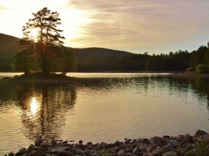 Sunset Loch Vaa June2018