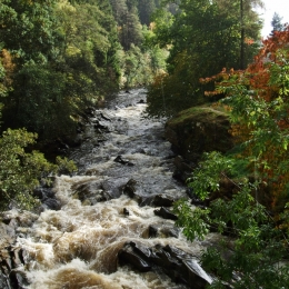 River Feshie - Full Flow
